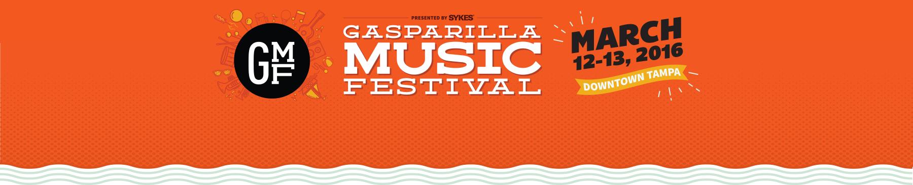Gasparilla Music Festival Header